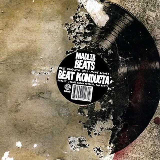 Madlib BEAT KONDUCTA 1 Vinyl Record