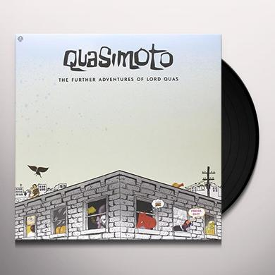 Quasimoto FURTHER ADVENTURES OF LORD QUAS Vinyl Record