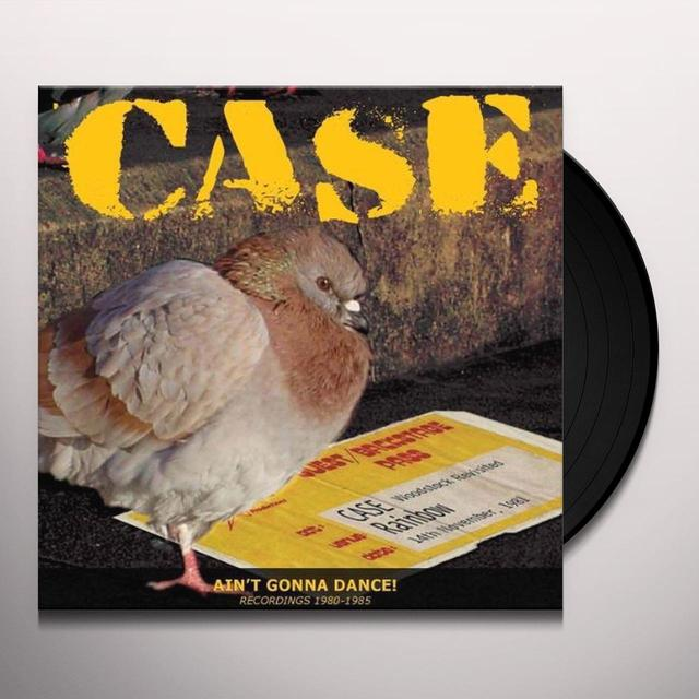 Case AIN'T GONNA DANCE: RECORDINGS 1980-1985 Vinyl Record