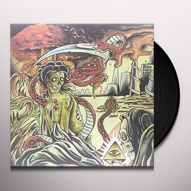 Pulling Teeth PARANOID DELUSIONS & PARADISE ILLUSIONS Vinyl Record