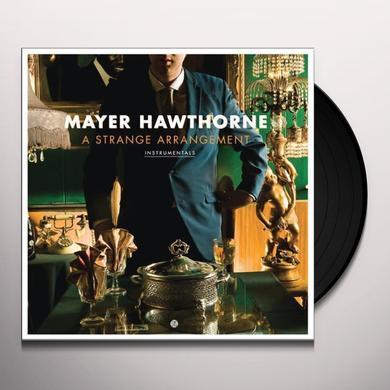 Mayer Hawthorne STRANGE ARRANGEMENT INSTRUMENTALS Vinyl Record