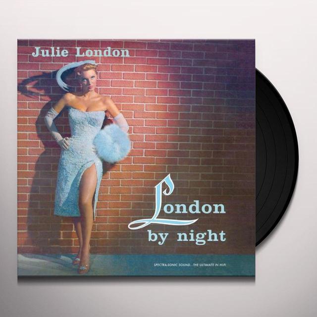 Julie London LONDON BY NIGHT Vinyl Record - 180 Gram Pressing