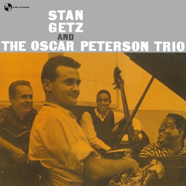 STAN GETZ & OSCAR PETERSON TRIO Vinyl Record - 180 Gram Pressing