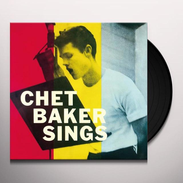 Chet Baker SINGS Vinyl Record - 180 Gram Pressing