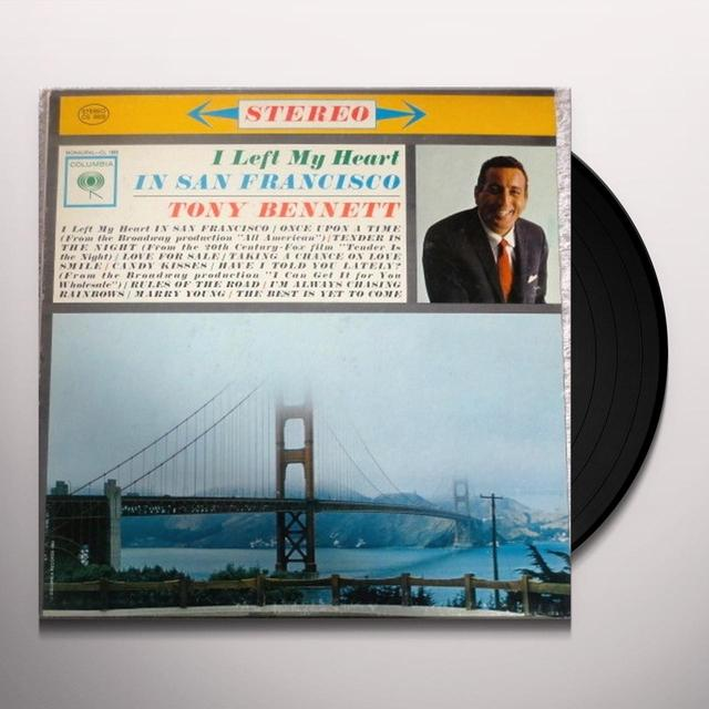 Tony Bennett I LEFT MY HEART IN SAN FRANCISCO Vinyl Record - 180 Gram Pressing