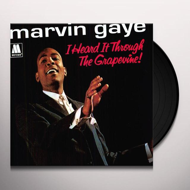 Marvin Gaye I HEARD IT THROUGH THE GRAPEVINE Vinyl Record - 180 Gram Pressing