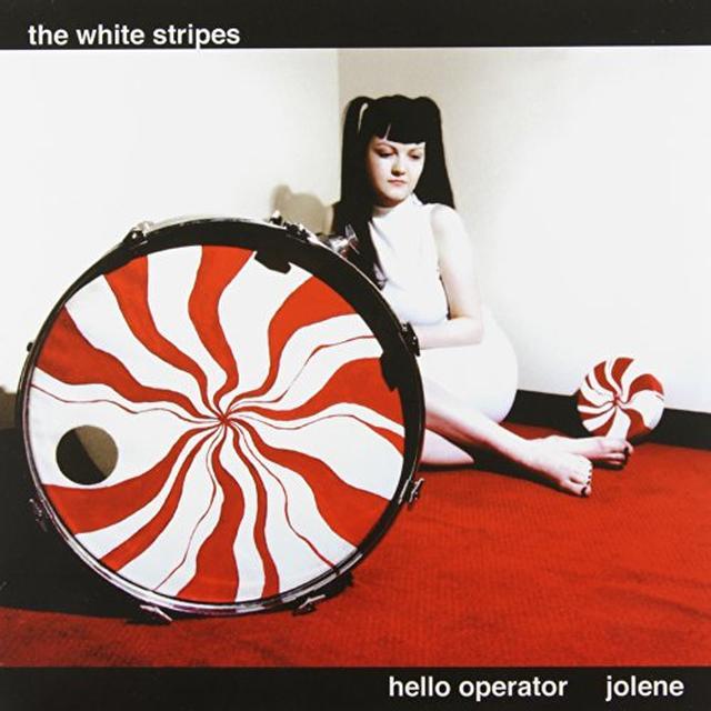 The White Stripes HELLO OPERATOR / JOLENE Vinyl Record