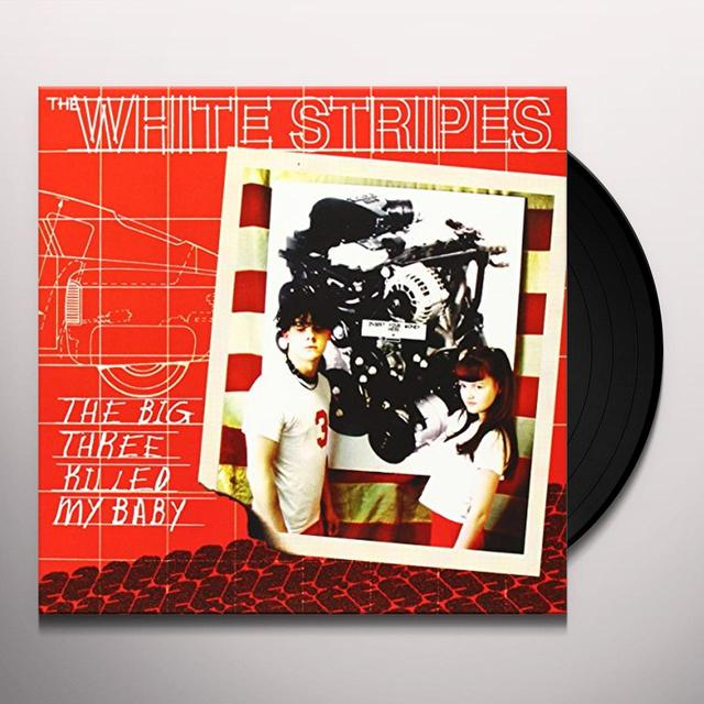 The White Stripes BIG THREE KILLED MY BABY / RED BOWLING BALL RUTH Vinyl Record