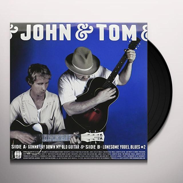 John & John C Tom ( Reilly & Tom ) Brosseau GONNA LAY DOWN MY OLD GUITAR / LONESOME YODEL BLUE Vinyl Record