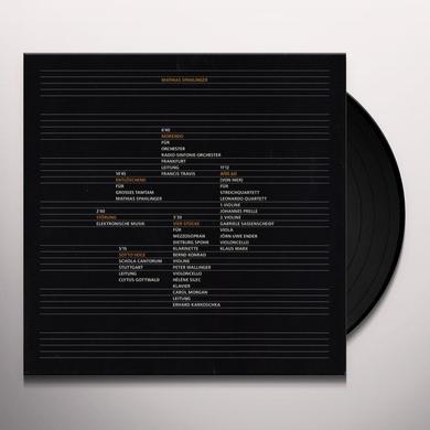Mathias Spahlinger MORENDO Vinyl Record