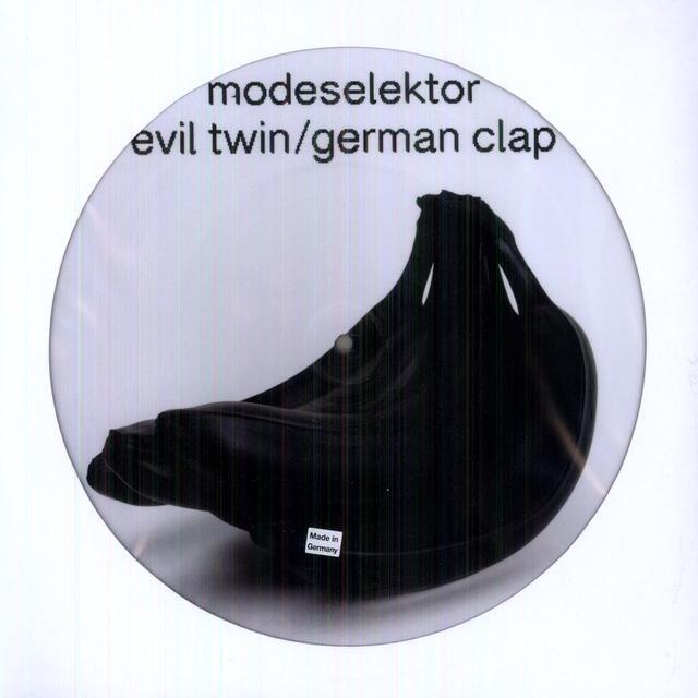 Modeselektor EVIL TWIN / GERMAN CLAP Vinyl Record