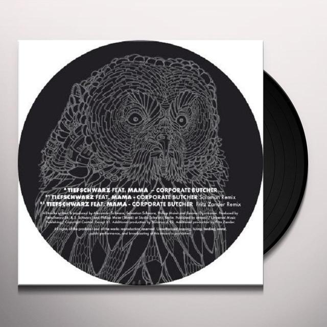 Tiefschwarz CORPORATE BUTCHER (EP) Vinyl Record