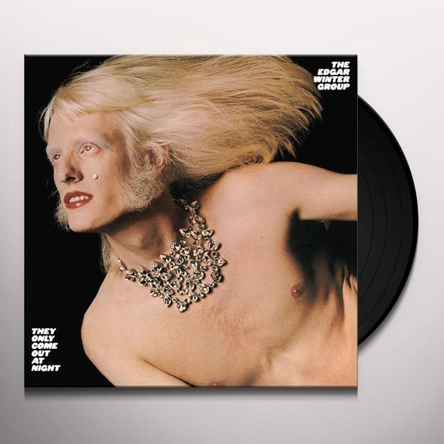 Edgar Winter Group THEY ONLY COME OUT AT NIGHT Vinyl Record - Limited Edition, 180 Gram Pressing