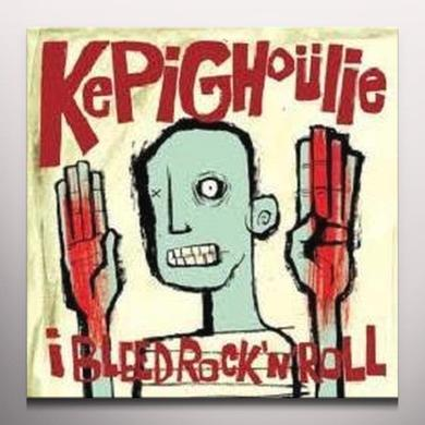 Kepi Ghoulie I BLEED ROCK & ROLL Vinyl Record - Colored Vinyl