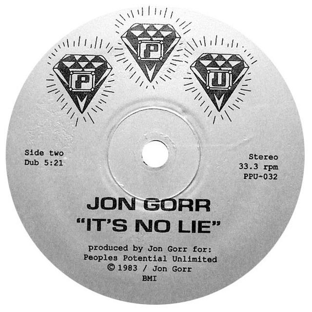 Jon Gorr IT'S NO LIE Vinyl Record