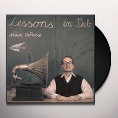 Marc Depulse LESSONS IN DUB 1 (EP) Vinyl Record