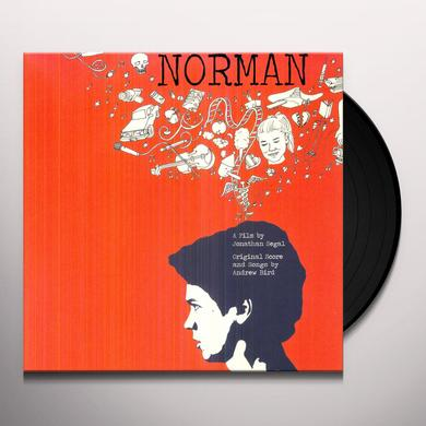 Andrew Bird NORMAN / O.S.T. Vinyl Record - Limited Edition