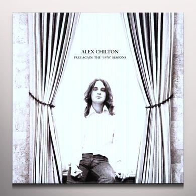 Alex Chilton FREE AGAIN: THE 1970 SESSIONS Vinyl Record - Clear Vinyl, Limited Edition, Digital Download Included