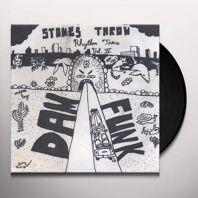 Dâm-Funk RHYTHM TRAX 4 Vinyl Record