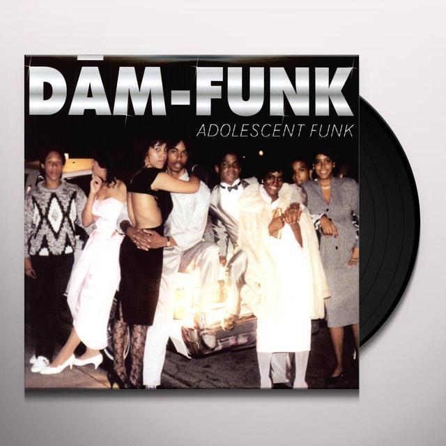 Dâm-Funk ADOLESCENT FUNK Vinyl Record