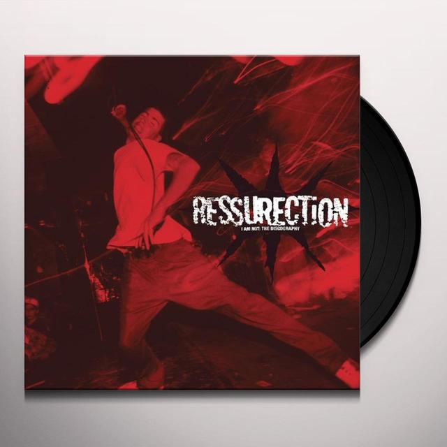 Ressurection I AM NOT: DISCOGRAPHY Vinyl Record