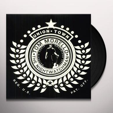 Tom Morello: the Nightwatchman UNION TOWN Vinyl Record