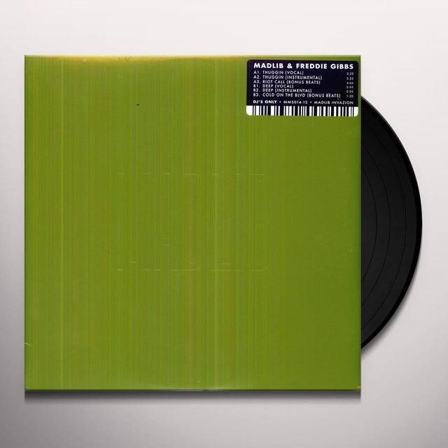 Freddie Madlib / Gibbs THUGGIN Vinyl Record