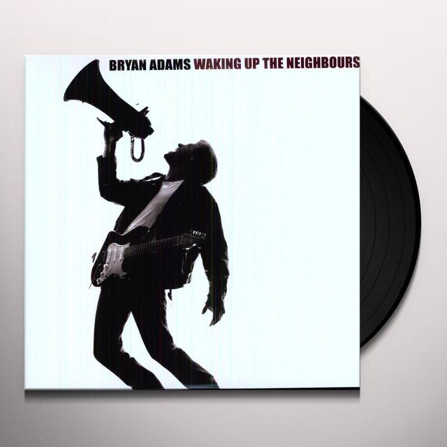 Bryan Adams WAKING UP THE NEIGHBORS Vinyl Record - Limited Edition, 180 Gram Pressing, Anniversary Edition, Reissue