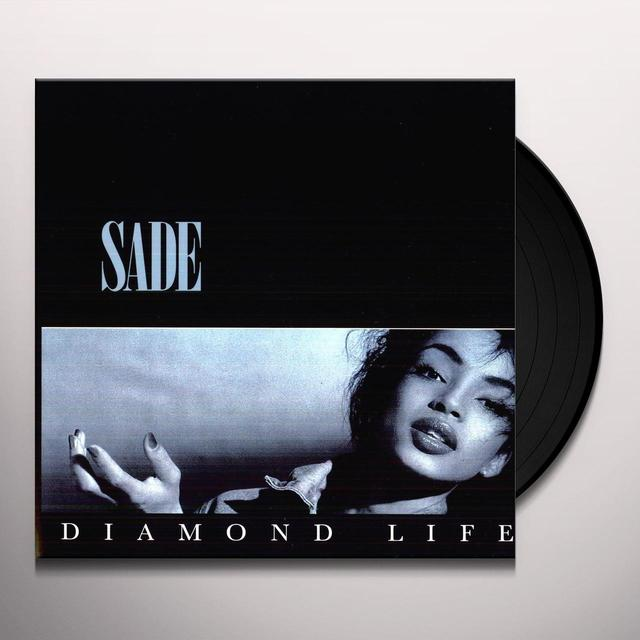 Sade DIAMOND LIFE Vinyl Record - 180 Gram Pressing