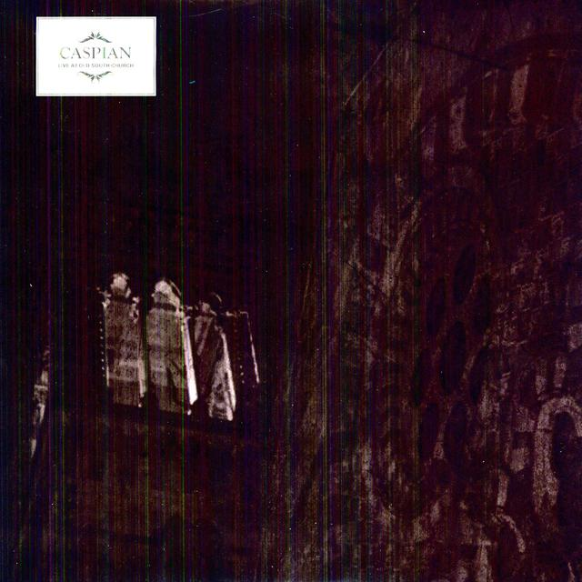 Caspian LIVE AT OLD SOUTH CHURCH Vinyl Record