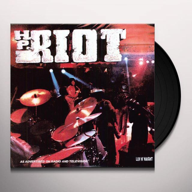 HP RIOT Vinyl Record - Limited Edition