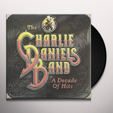 Charlie Daniels DECADE OF HITS Vinyl Record