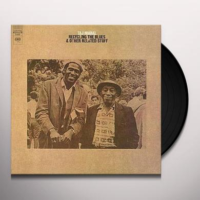 Taj Mahal RECYCLING THE BLUES & OTHER RELATED STUFF Vinyl Record - Limited Edition