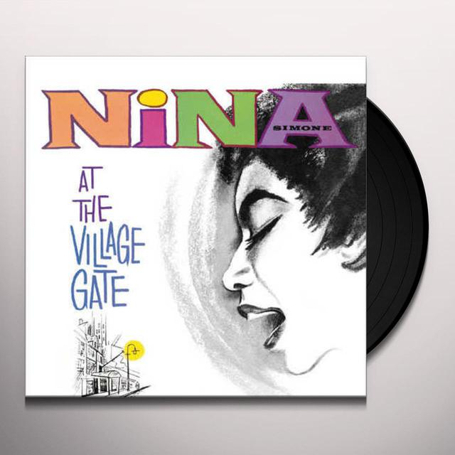 Nina Simone NINA AT THE VILLAGE GATE Vinyl Record
