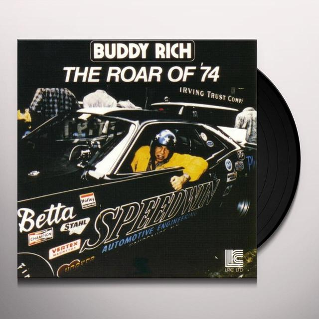 Buddy Rich ROAR OF 74 Vinyl Record - 180 Gram Pressing