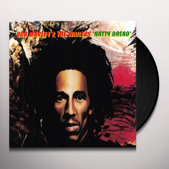Bob Marley NATTY DREAD Vinyl Record - Holland Release