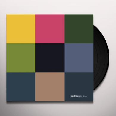 New Order LOST SIRENS (BONUS CD) Vinyl Record
