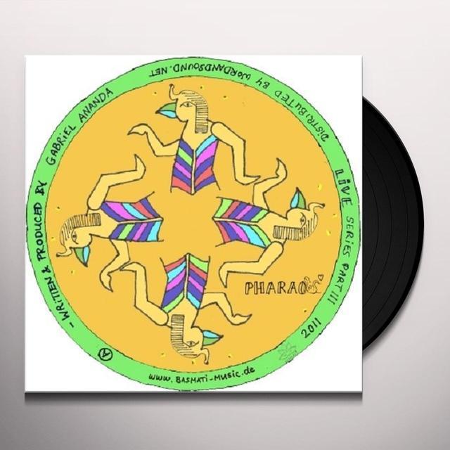 Gabriel Ananda LIVE SERIES 3 (EP) Vinyl Record
