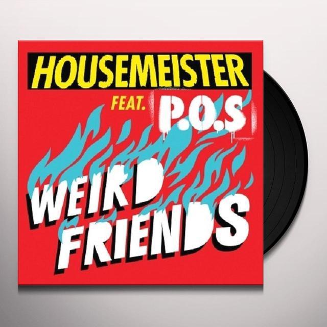 Housemeister WEIRD FRIENDS (EP) Vinyl Record