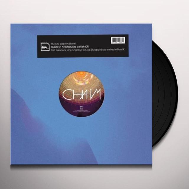 Chaim ROBOTS ON METH (EP) Vinyl Record