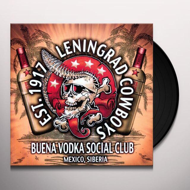 Leningrad Cowboys BUENA VODKA SOCIAL CLUB Vinyl Record