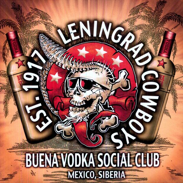 Leningrad Cowboys BUENA VODKA SOCIAL CLUB Vinyl Record