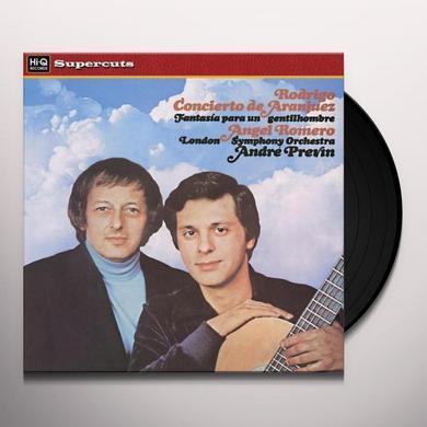 Romero / London Sym Orch / Previn CONCIERTO DE ARANJUEZ Vinyl Record - 180 Gram Pressing