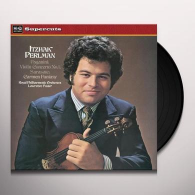Perlman / Royal Philharmonic Orch VIOLIN CONCERTO 1 & CARMEN FANTASY Vinyl Record