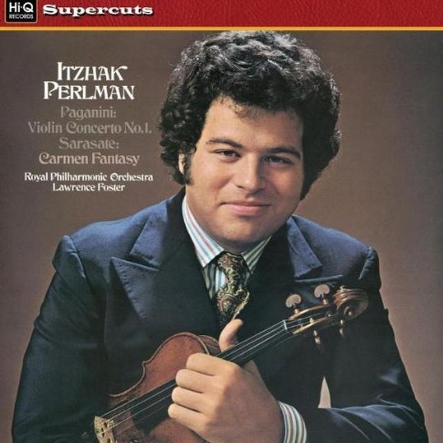 Perlman / Royal Philharmonic Orch VIOLIN CONCERTO 1 & CARMEN FANTASY Vinyl Record - 180 Gram Pressing