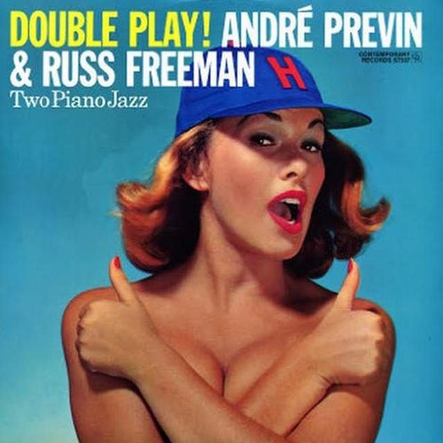 Andre / Freeman Russ Previn DOUBLE PLAY Vinyl Record