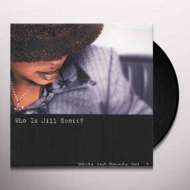 WHO'S JILL SCOTT: WORDS & SOUNDS 1 Vinyl Record - Holland Import