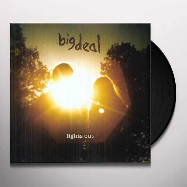 Big Deal LIGHTS OUT Vinyl Record