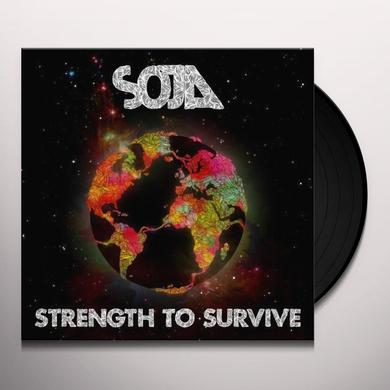 Soja STRENGTH TO SURVIVE Vinyl Record