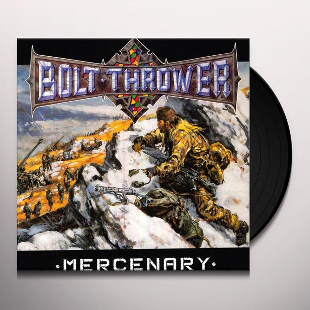 Bolt Thrower MERCENARY Vinyl Record